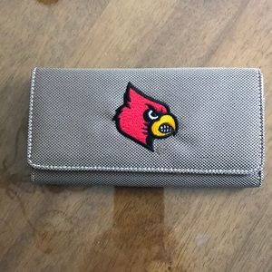 Louisville Cardinals Wallet -Never Used